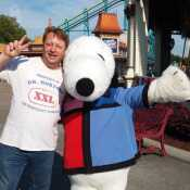 Me and Snoopy.